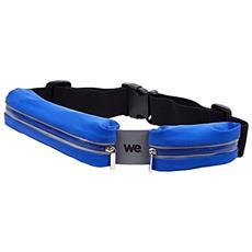 We Wespceintb Cintura Per Sport, Colore: Blu
