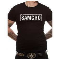 Sons Of Anarchy - Samcro Banner (T-Shirt Unisex Tg. S)