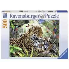 Puzzle 500 Pezzi - Giaguari