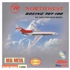 3557519 Boeing 727-100 Northw. orient Cromato Modellino