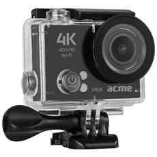 Action Camera VR06 Ultra HD 4K Wi-Fi Colore Nero
