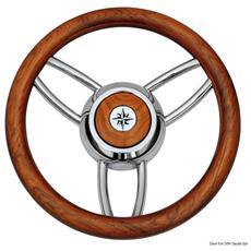 Volante Bliz legno opaco teak