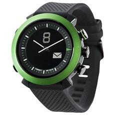 Smartwatch Classic in Silicone Impermeabile 10ATM Bluetooth per Android e iOS Verde - Italia