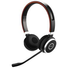 Cuffie Wireless Evolve 65 MS Stereo Bluetooth Colore Nero