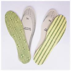 Solette Sottopiede Bambu Fibra Naturale Scarpe Antiodore Antisudore Universali Piedi
