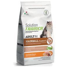 Cibo per gatti Hairball Controll con Pollo Fresco 300 gr