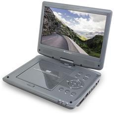 """PDB1960 Portable DVD player Da tavolo 10.1"""" 1024 x 600Pixel Nero lettore DVD / Blu-Ray portatile"""