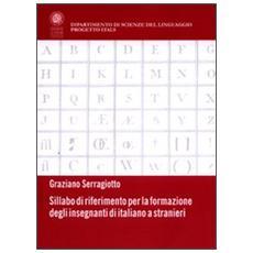 Sillabo di riferimento per la formazione degli insegnanti di italiano a stranieri