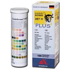 Strisce Urine Veterinaria - 11 Parametri - Conf. 100 Pz.