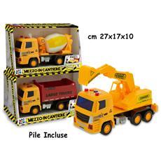 Teo's - Mezzi In Cantiere Con Luci E Suoni 3ass - Open Touch Box