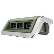 62070053 Interno Verde caricabatterie per cellulari e PDA