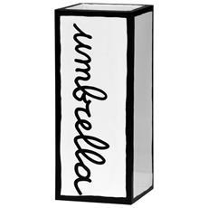NEW UMBRELLA Portaombrelli In Metallo Serigrafato