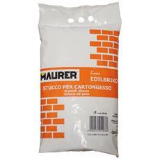 Stucco in Polvere per Cartongesso 5Kg Maurer