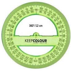 Goniometro 360° cm. 12 Verde Fluo