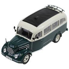 Ist168 Bus Robur Garant 30k Vwb 18 1956 Green / cream 1:43 Modellino