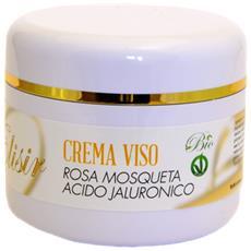 Crema Viso Rosa Mosqueta E Acido Ialuronico -50ml