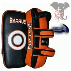 Peao Singolo Colpitore Pao Curvo Taekwondo Muay Thai Mma Full Kick Boxing Kung Fu (nero / arancio)