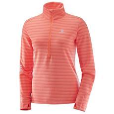 Magliette Salomon Lightning Half Zip Mid Abbigliamento Donna