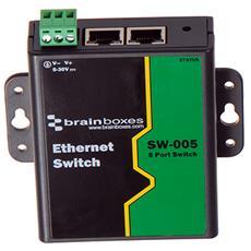 SW-005, No gestito, Fast Ethernet (10/100) , Nero, 0 - 70 °C