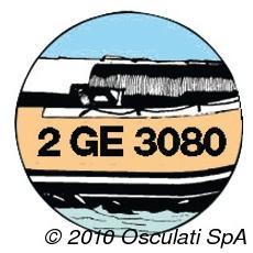 Lettere Autoadesive in Elastico per Gommoni Nera 20 cm 54.533.10-4