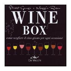 Wine box. Come scegliere il vino giusto per ogni occasione. Cofanetto
