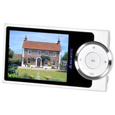 Lettore MP4 con Fotocamera Display 2.4' Sintonizzatore FM SD 8GB colore Nero / Bianco