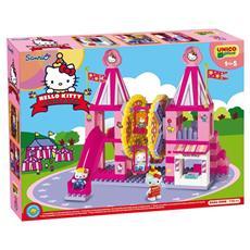 Unico Plus - Hello Kitty Fun Park Ruota Panoramica 114 Pezzi