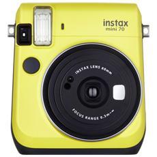 FUJIFILM - Instax Mini 70 Giallo Fotocamera a Sviluppo Istantaneo