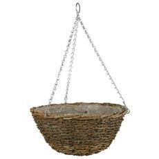 Vaso Basket Rustico 35 Cm