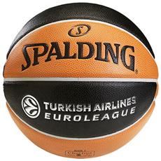 Pallone Euroleague Official Tf1000 Arancio Nero 7