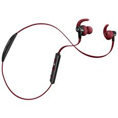 Auricolari Lace Wireless Sports Earbuds Bluetooth - Rosso
