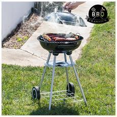 Barbecue A Carbone Con Coperchio E Ruote Bbq Classics