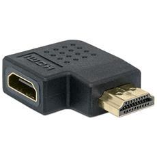 IADAP HDMI-RM - Adattatore HDMI Maschio / Femmina 90° sinistra