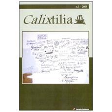 Calixtilia. Ediz. multilingue. Vol. 1