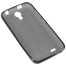 Bum22-43 Nero Cover Custodia Silicone Smartphone Crono22-43 + Pellicola