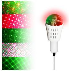 Infatti La Lampadina Rossa & Verde - 8 Modelli Di Modo Di Musica E27 Galaxia