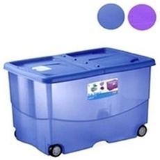 Contenitore In Plastica Linea Vasco, 57 Lt, 60x40xh. 36 Cm Trendycolor