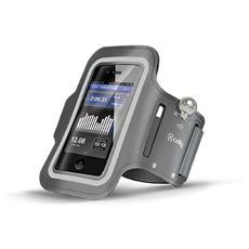 """Fascia da braccio Universale per smartphone fino a 5"""" - Grigio"""