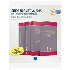 Guida normativa per l'amministrazione locale 2015