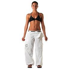 Borneo - Pantalone Sportivo - Tg 46 - Colore Bianco