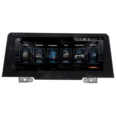 """Autoradio Bmw Serie 1 F22 Fulltouch 9"""""""" Octacore Android 7.1 Gps Bt Mirror Link Usb Mp3"""