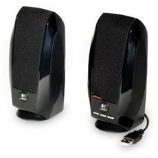 Sistema di altoparlanti LogitechS-150 - 2.0 - 1,2 W RMS - 90 Hz - 20 kHz - USB