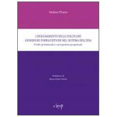 L'insegnamento delle discipline giuridiche pubblicistiche nel sistema dell'eda. Profili problematiche e prospettive progettuali