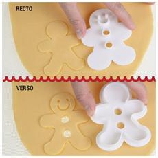 Tagliapasta Ad Incisione Omino Gingerbread