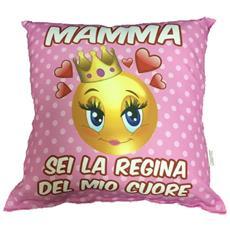 Cuscino Festa Della Mamma Sei La Regina Del Mio Cuore Ps 05901