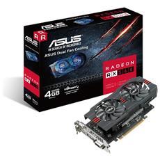 ASUS - Radeon RX 560 4 GB GDDR5 DVI-D / HDMI /...