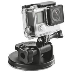 Ventosa universale XL per action camera, ad esempio GoPro e altre marche supportate
