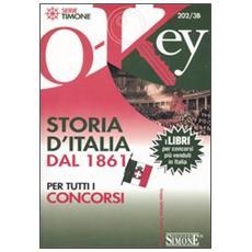 Storia d'Italia dal 1861 per tutti i concorsi
