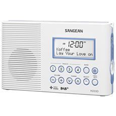 Radio Digitale Bianco 2.5 V 23 x 14 x 5.6 cm H203DAB+-EU