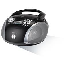 Radio Portatile con Lettore CD USB GDP6330 - Nero / Argento
